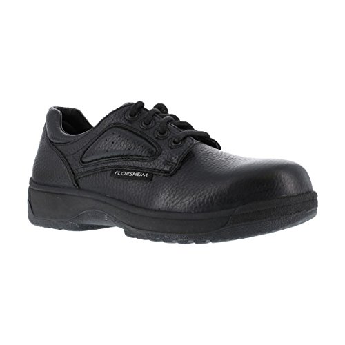 Florsheim Work Men's FS2416 Work Shoe,Black,12 3E US by Florsheim