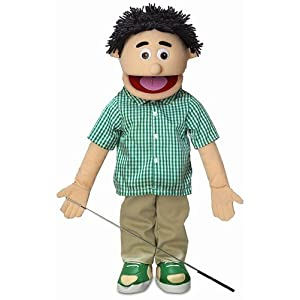 "25"" Kenny, Peach Boy, Full Body, Ventriloquist Style Puppet - 416 2BmipZRUL - 25″ Kenny, Peach Boy, Full Body, Ventriloquist Style Puppet"