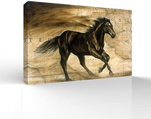 Galloping Horse Painting for Bedroom Living Room