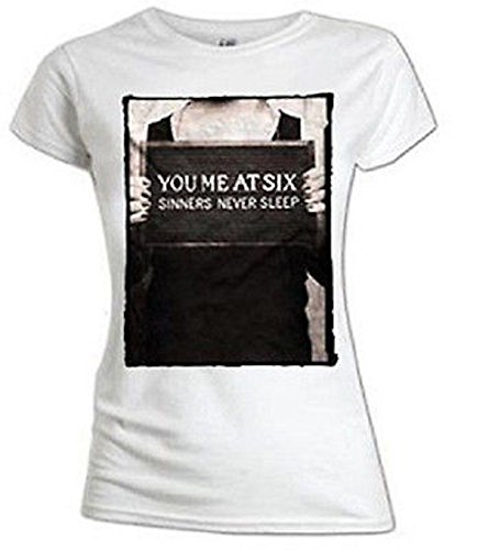 VOUS Me de Six – Sinners nunca Sleep – oficial Womens camiseta
