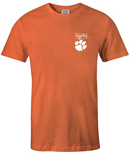 Image One NCAA Unisex-Adult NCAA Sketchbook Comfort Color Short Sleeve T-Shirt