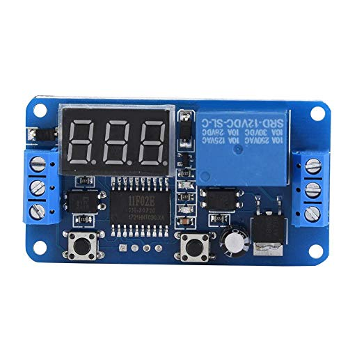 Timer Relay PLC Automation Control Switch Module LED Digital Display ((12V))