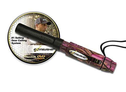 Illusion Systems Extinguisher Deer Call System, Pink Camo