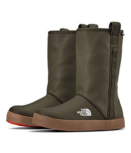 's Basecamp Rain Boot Shorty - Tarmac Green & Scarlet Ibis - 9.5 ()