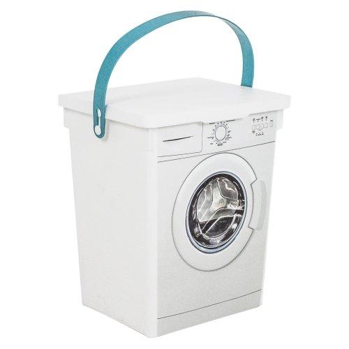 Plastic Laundry Dishwasher Washing Powder Tablet Detergent Storage Box  Container