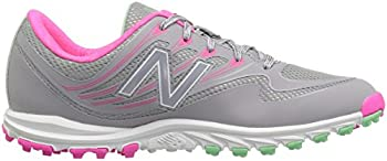 New Balance Women's Nbgw1006 Golf Shoe, Greypink, 9.5 B Us 6