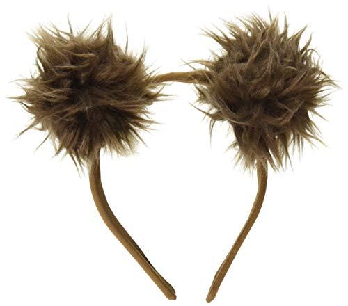 Leg Avenue Women's Bear Ears Costume Accessory, Brown, O/S