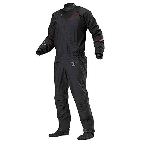 Stohlquist Ez Drysuit (Black, X-Large)