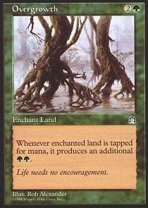 Magic: the Gathering - Overgrowth - Stronghold Common Enchantment Single Card
