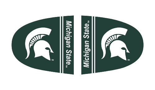 FANMATS NCAA Michigan State University Spartans Polyester Mirror (Michigan Mirror)