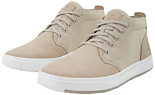 Timberland Men's, Davis Square Chukka Boots Light Taupe 10 M