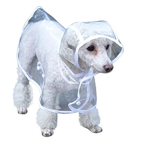 Dog Puppy Raincoat - 7