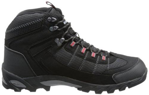 KangaROOS Killrock - Zapatos de senderismo de material sintético hombre negro - Schwarz (blk/dk.grey/lt.grey)
