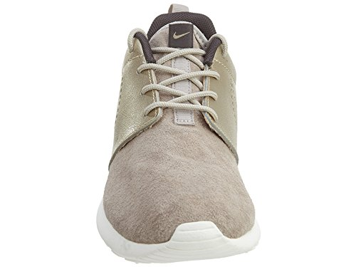 Nike Womens Roshe One Prm Scarpe Da Ginnastica Scamosciate 820228 Scarpe Da Ginnastica Scarpe Strong / Metallic Gold Grn-dark Storm-sail