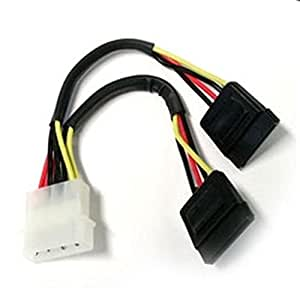 Red Shop | (CN060) Cable Alimentación para 2HDD Serial ATA–20cm RoHS de Matsuyama