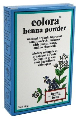 Colora Henna Powder Hair Color Brown 2oz (3 Pack) by Colora Henna
