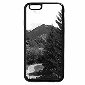 iPhone 6S Plus Case, iPhone 6 Plus Case (Black & White) - Fairmont Mountains in BC - Canada 11