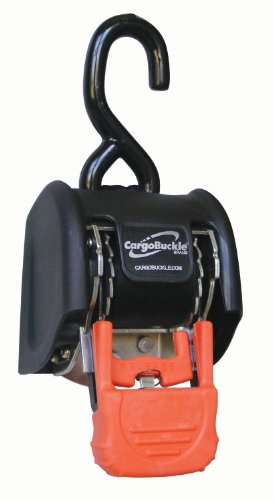 CargoBuckle F18800 G3 Retractable Ratchet Tie-Down System, 2-Pack by CargoBuckle (Image #1)