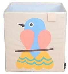 Toy Storage Box Bin Organizer Collapsible, Bird- 100% Money Back Guarantee