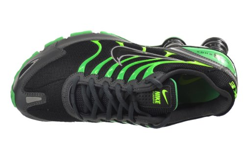 best loved 3768a 75769 NIKE Shox Turbo VI SL Mens  Running Shoes Black Anthracite-Gamma Green-