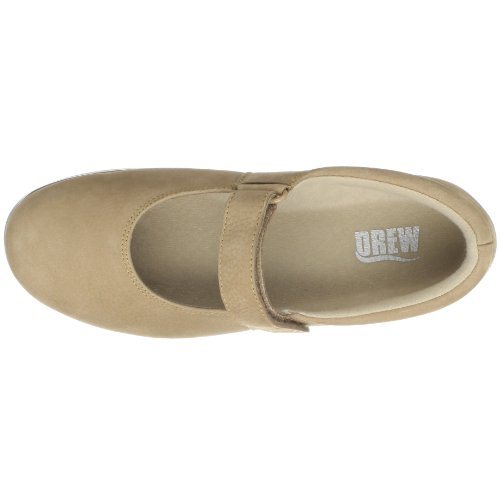 Drew Shoe Womens Bloom II Taupe Nubuck VX0Z0AdiZK
