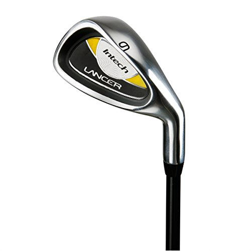 Intech Lancer Junior Golf Set, (Right-Handed, Age 4 to 7, 17.5 degree Driver, 4/5 Hybrid Iron, Wide Sole 7 and 9 irons, Junior Putter, Yellow, Deluxe Stand Bag) by Intech (Image #6)