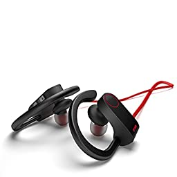 Otium Wireless Sports Bluetooth Headphones In-Ear Earbuds IPX7 Waterproof Earphones Stereo with Mic Bass Noise Cancelling Bluetooth V4.1 for iPhone Android Smartphones