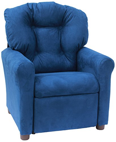 Crew Furniture 991610 Traditional Child Recliner Estate Blue For Sale