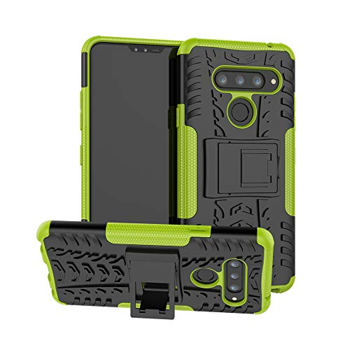 - Forhouse LG V40 Case, Women Soft Accessory Protective Durable Shockproof case Compatible with LG V40-Green