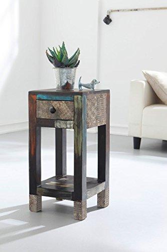 GOA 3503 Blumensäule, Holz, 30 x 30 x 60 cm, bunt