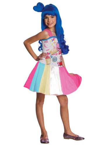 Big Girls' Katy Perry Candy Girl Costume - S ()