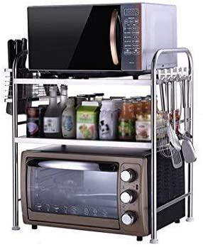 DUDDP Cocina estanterías 3-Tier Estante de la Cocina del ...
