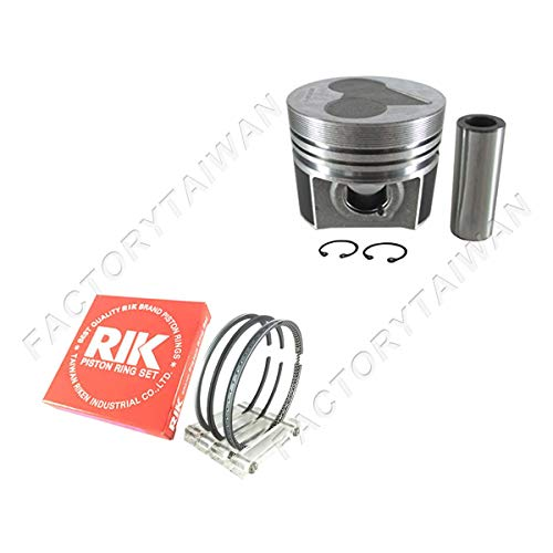 Factorytaiwan Piston + Ring Set STD 87mm for KUBOTA V2203 / D1703