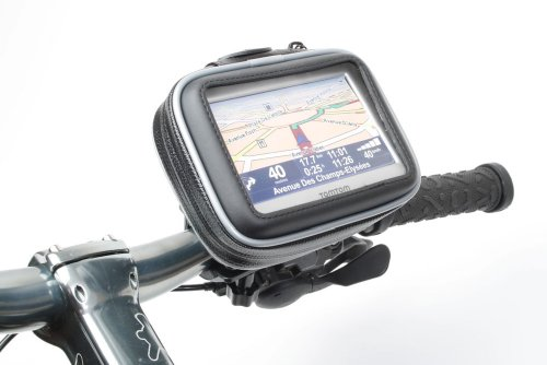 Duragadget Waterproof Bike Mount And Case For 4 3 Inch Tomtom One