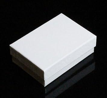 De algodón de petanca de accesorios caja de regalo de soldadura of 20 De colour blanco