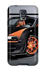 Awesome Case Cover/galaxy S5 Defender Case Cover(2013 Bugatti Veyron6 Grand Sport Vitesse )