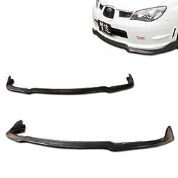 Subaru Impreza WRX GG Sti CS CS2 Style Urethane Front Bumper Lip Chin Spoiler For 06-07 Models ONLY.
