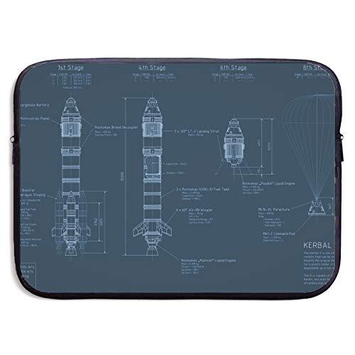 Fonsisi 13 Inch Laptop Sleeve Computer Case Programming Soft Neoprene Laptop Bag MacBook Air/Pro Bag