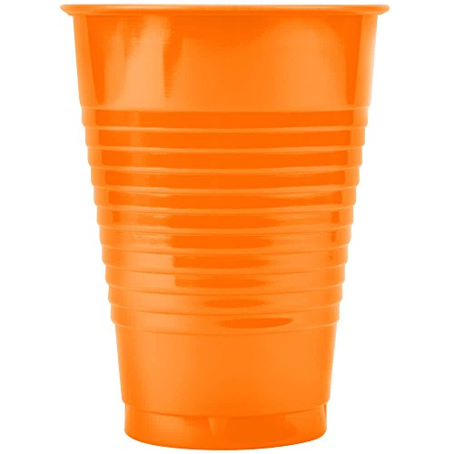 318883 16 oz. Fresh Mint Green Plastic Cup - 240/Case By TableTop King