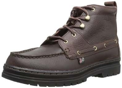 Justin Boots Men's Causal Chukka Boot,Rustic Buffalo Sport Black Thermal Plastic Rubber,8 M US