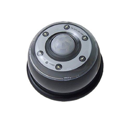 eDealMax 6 rilevatore di movimento del sensore LED Bianco automatico di risparmio energetico Della lampada Black Light