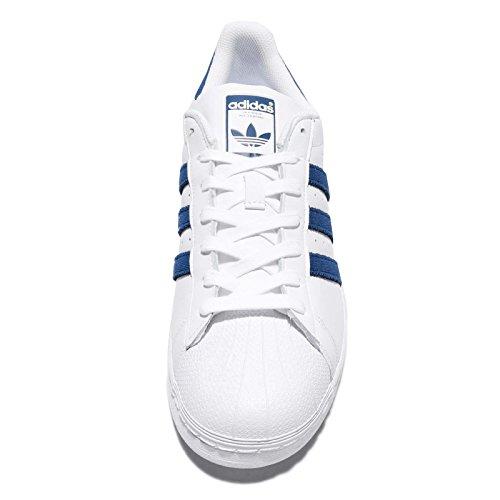 Maruni Ginnastica Bianco Maruni Uomo Ftwbla da Scarpe adidas Superstar Basse fqU441