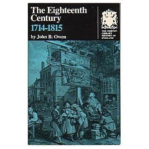 The Eighteenth Century: 1714-1815 (The Norton Library History of England ; N366)