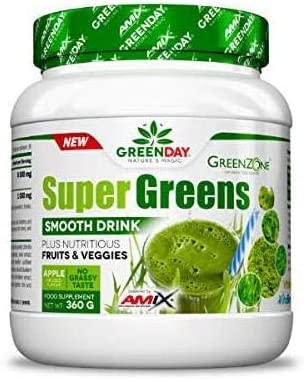 Amix Greenday Super Greens Smooth Drink 360 Gr 360 g