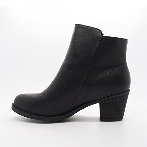 London Footwear Zenovia, Women's Ankle Boots Black