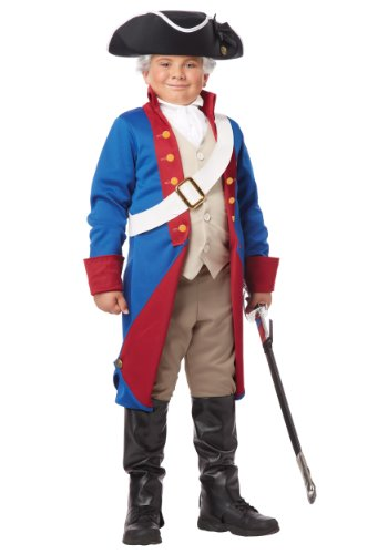 (California Costumes American Patriot Child Costume,)
