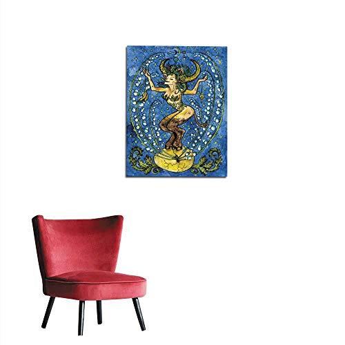 longbuyer Wall Sticker Decals Taurus or Bull Zodiac Sign Mural 32