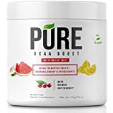 Pure BCAA Boost All Natural Vegan BCAA's+Organic Energy, Phytonutrients and Antioxidants Fuels+Revitalizes Muscle Pre-Workout