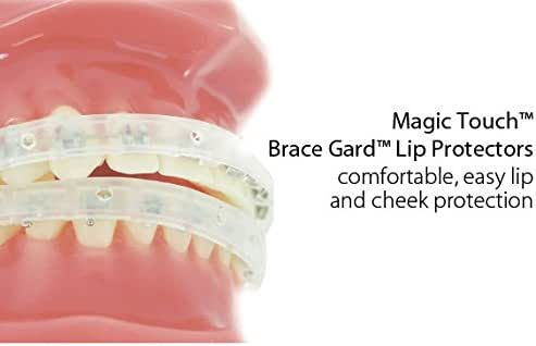 Our Bestseller Orthodontic Braces LipGuard Protector Shield (1 set - Upper - Lower teeth) with Instructions By Cayenas