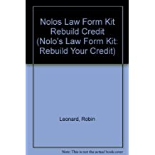 Nolos Law Form Kit Rebuild Credit
